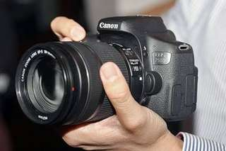 Kredit Canon eos 750D kit 18-135mm Dp ringan tanpa Cc