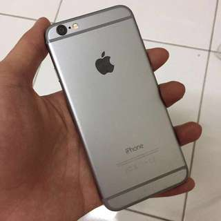 Iphone 6 64gb Space Grey ( can swap )