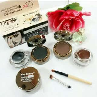 Kiss beauty eyeliner + eyebrown gel 2 in 1