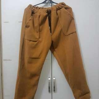 Woolen Haren Pants Cashmere