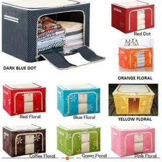 66 L Large Capacity Multifunctional Foldable Storage Box