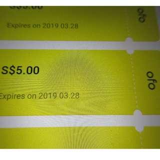 ofo $100 coupon