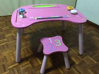 Kids' Study Table and Stool Set from ELC