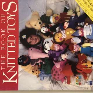 Knitting toy book delivery by mail.