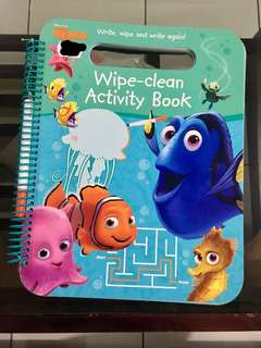 Finding Nemo activity book
