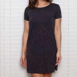 H&M Grey T-Shirt Dress