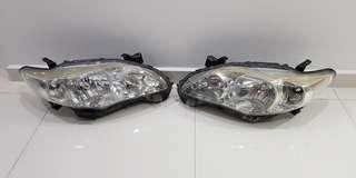Toyota Altis 2011 - 2013 headlamp housing