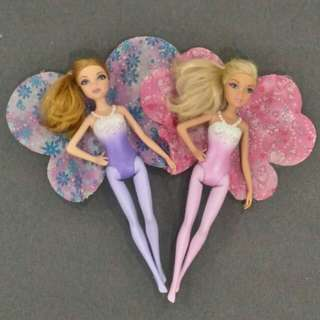 Barbie Fairy Doll - Brunette & Blonde
