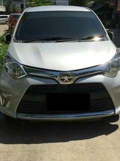 Over Kredit Toyota Calya AT matic tipe G terawat silver A/T 2016