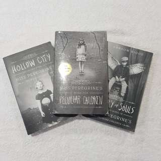 Miss Peregrine's Home for Peculiar Children trilogy by Ransom Riggs