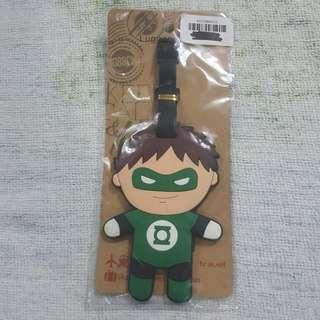 Replica Brand New Sealed DC Comics Green Lantern Rubber Luggage Bag Tag