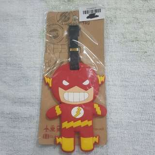 Replica Brand New Sealed DC Comics Flash Rubber Luggage Bag Tag