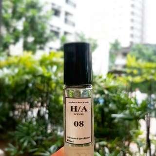 Oil based perfume for men and women