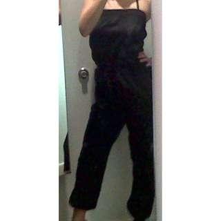 H&M Black Tube Jumpsuit