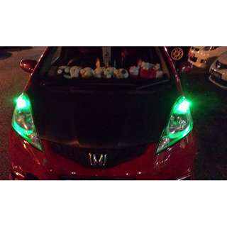 Honda FIT on T10 wedge super bright CREE project lens super bright FOR POLE LIGHT - cash&carry