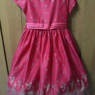 Dress/ Gown kids 7 yrs old up to 9 yrs old