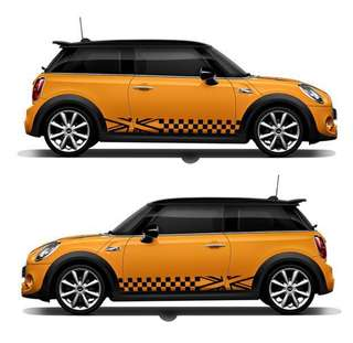 "Mini Cooper ""Countryman"" Motif(1 Pair)"