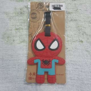 Replica Brand New Sealed Marvel Spiderman Rubber Luggage Bag Tag