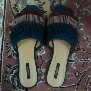 Tassel Flat Sandals