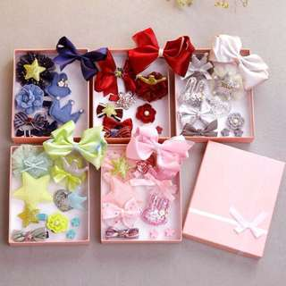 [FREE POSTAGE SM] Baby & kids accessories hair 10pcs