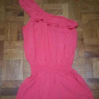 Guess one shoulder romper