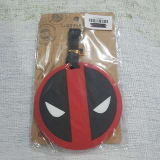 Replica Brand New Sealed Marvel Deadpool Mask Logo Rubber Luggage Bag Tag