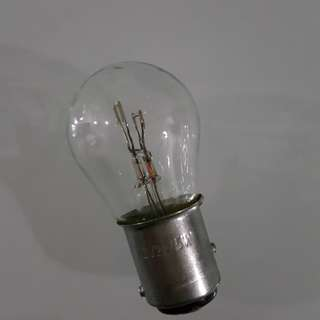 1157 Double filament bulb for car and bike