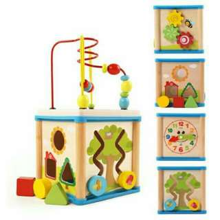5 in 1 Multifunctional Wooden Box