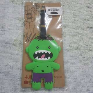 Replica Brand New Sealed Marvel Incredible Hulk Rubber Luggage Bag Tag
