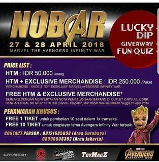 NOBAR AVENGER Surabaya Jakarta 27-28 April 2017