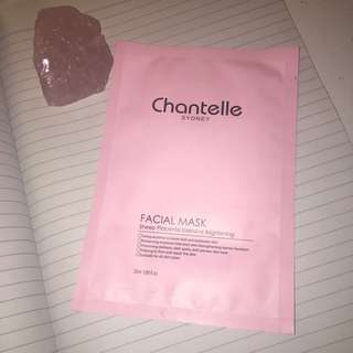 Chantelle Facial Mask Sheep Placenta Intensive Brightening