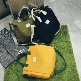 Japanese fashion solid color shoulder bag