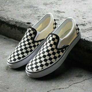 Jualan PRU14! Vans Checkerboard Core Classic Slip On
