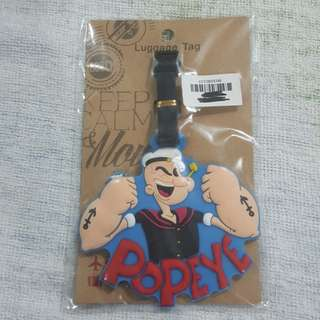 Replica Brand New Sealed Popeye Rubber Luggage Bag Tag