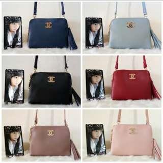 Tas wanita channel sling bag