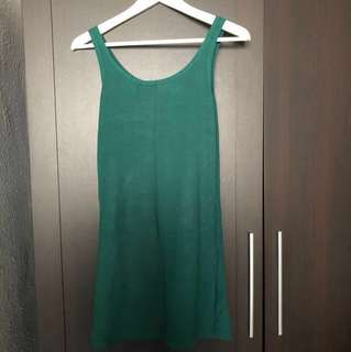 Teal Green and Navy Bodycon Dress