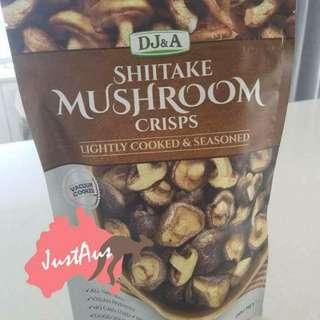即食天然香菇脆脆 (非油炸)150g 或 雜菜脆片 (非油炸)250g