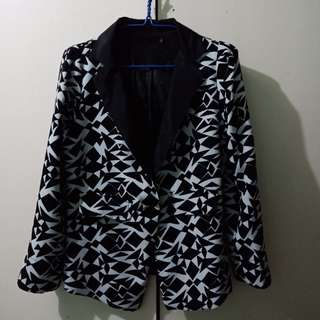 Corporate Coat Blazer Aztec