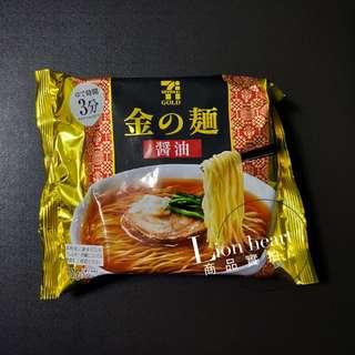 🚚 現貨實拍 日本金的麵 日本超商限定(醬油)