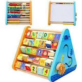 Multifunctional Learning Shelf
