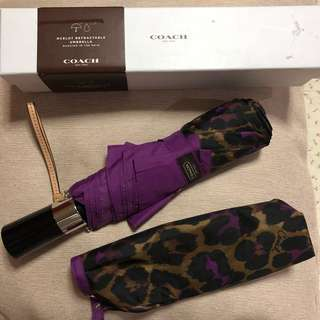 Original coach leopard umbrella