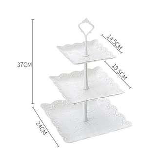 3 layer cake stand