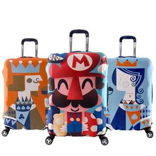Luggage Protector Cute Cover Travel Suitcase