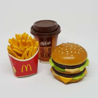 McDonald's McDo Happy Meal - Food Figures