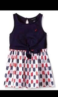 (50% off!) BNWT NAUTICA Girl's Cotton Dress
