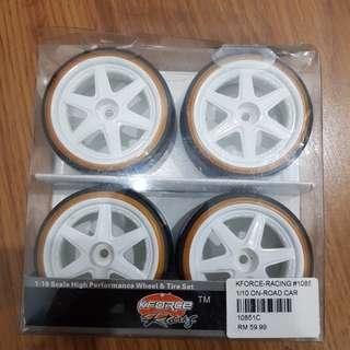 Rc drift tyre
