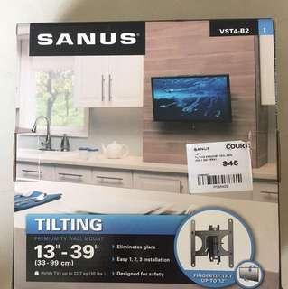 Unused SANUS TV/monitor wall mount bracket