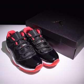 AIR JORDAN 11 AJ11 BRED 黑紅