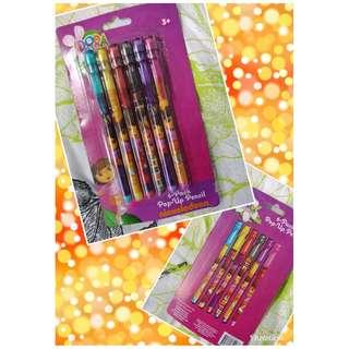 Nickelodeon Dora the Explorer Pop Up Pencil Set of 6