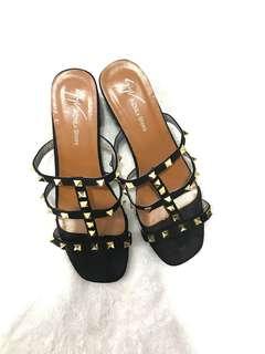 Valentino-inspired block heels